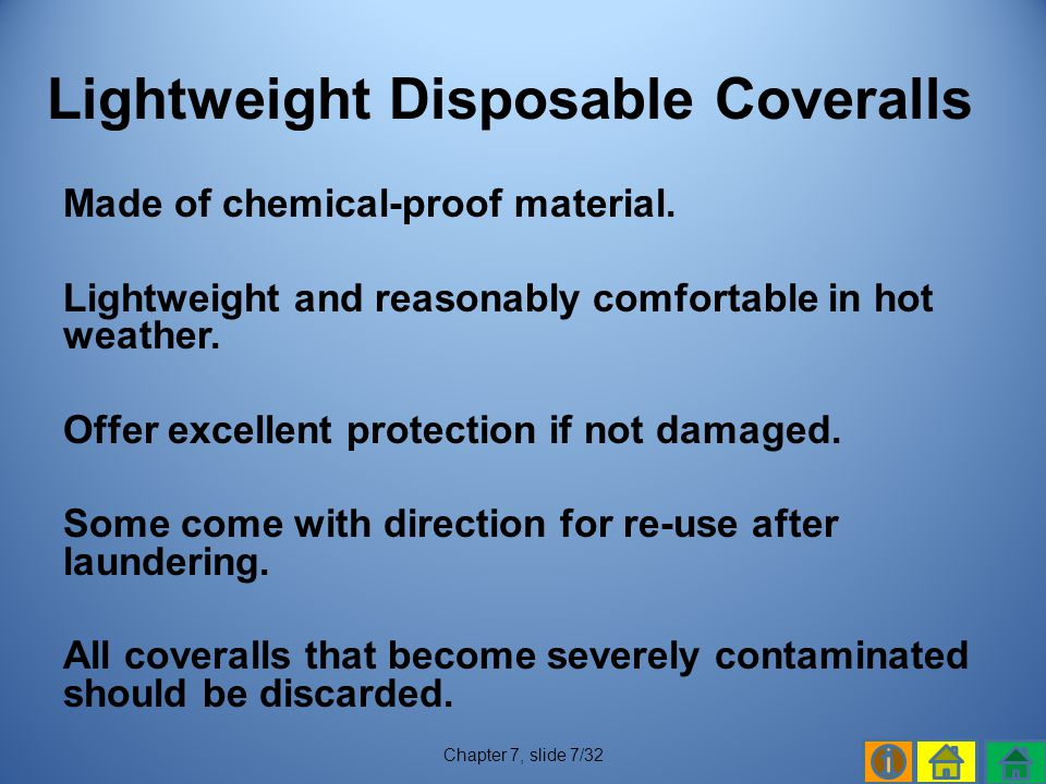 Lightweight Disposable Coveralls