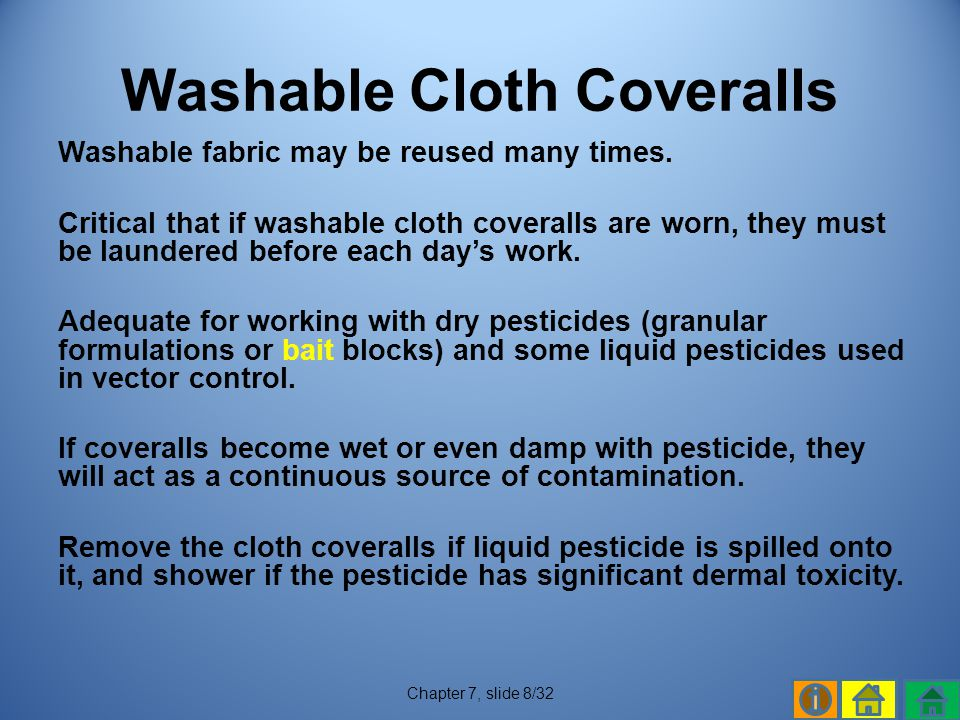 Washable Cloth Coveralls