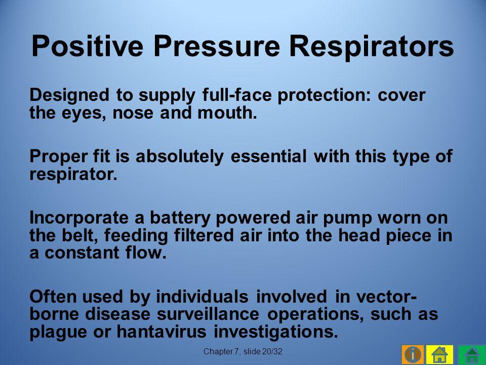 Positive Pressure Respirators