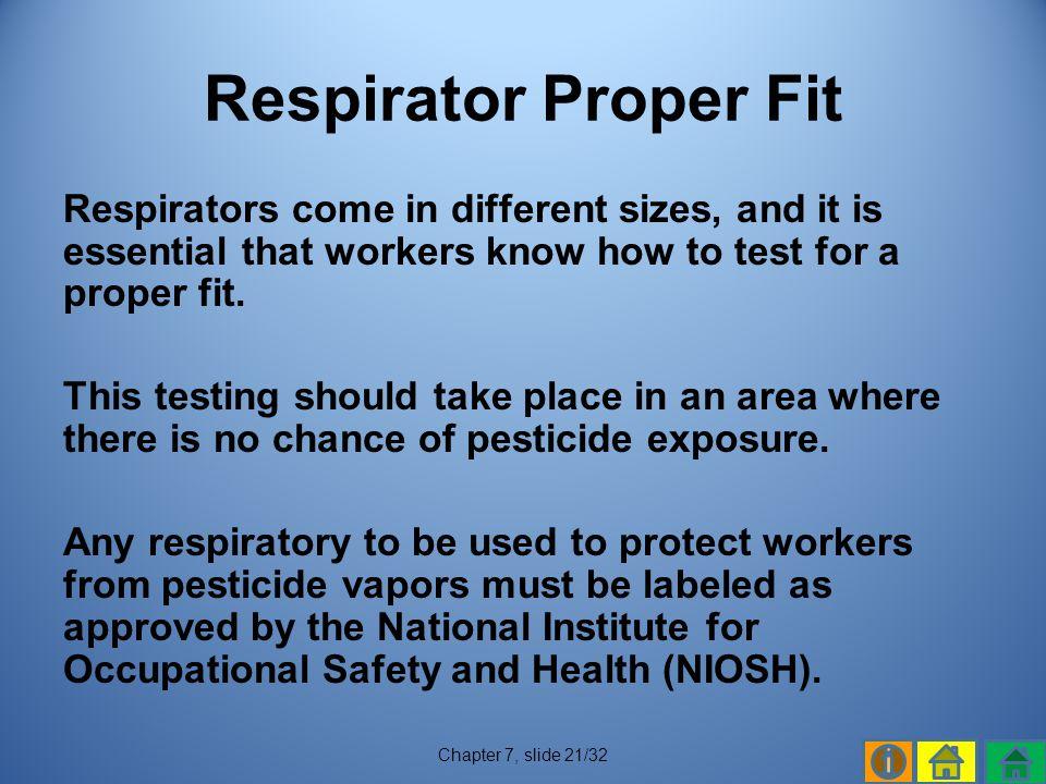 Respirator Proper Fit