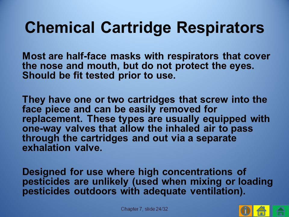 Chemical Cartridge Respirators
