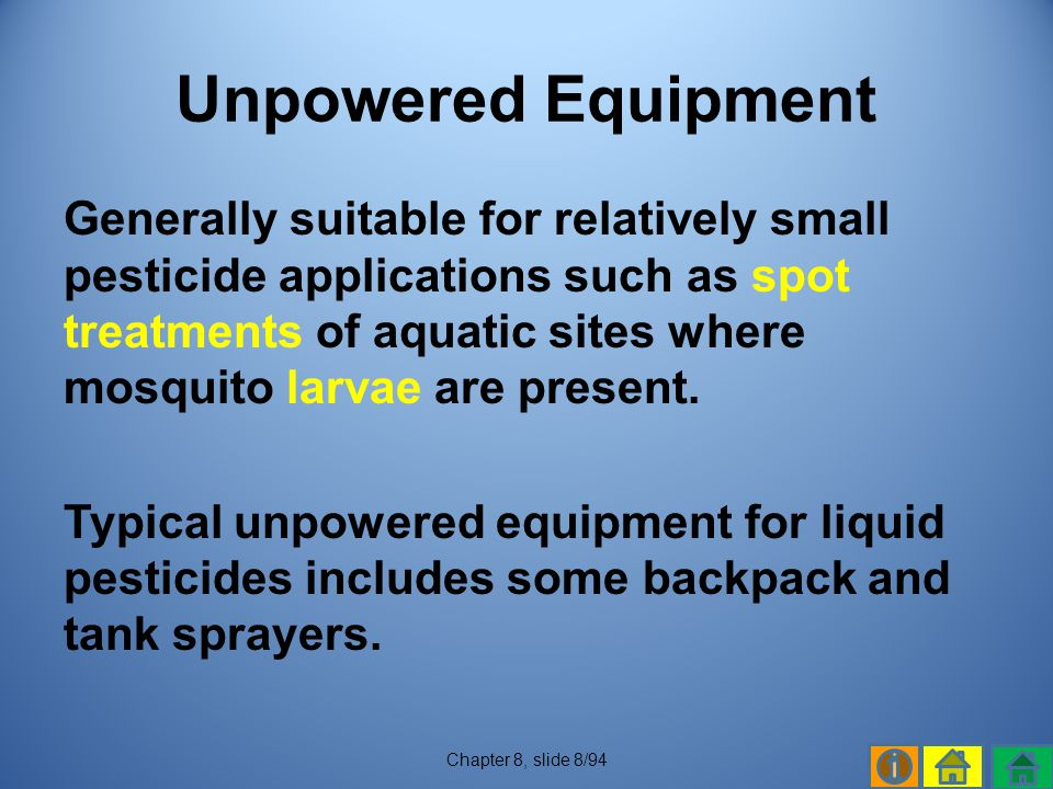 Unpowered Equipment