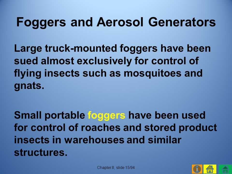 Foggers and Aerosol Generators