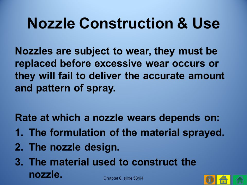 Nozzle Construction & Use