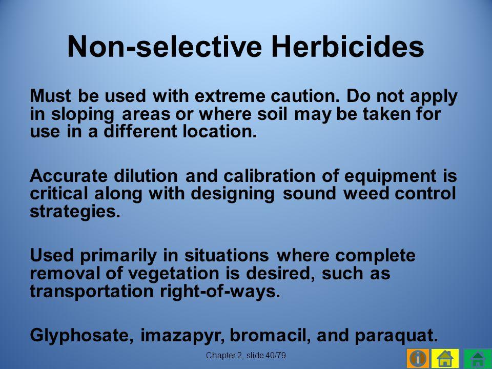 Non-selective Herbicides