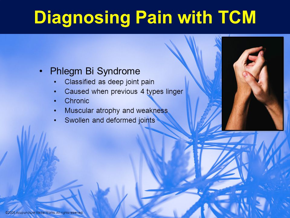 Diagnosing Pain with TCM