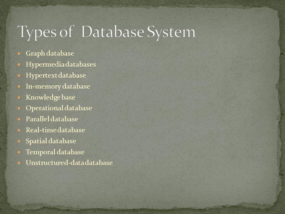 Types of Database System