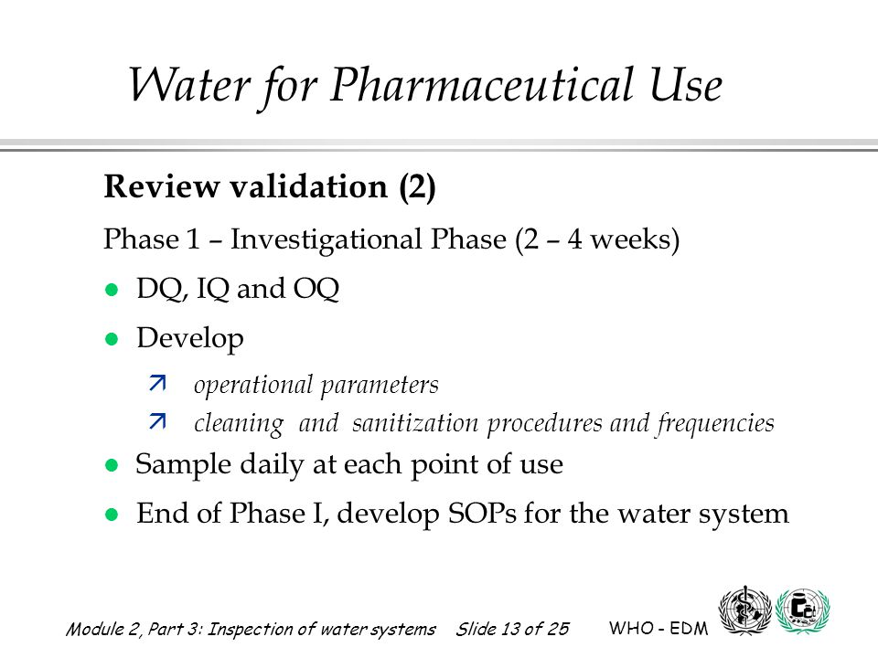 Review validation (2) Phase 1 – Investigational Phase (2 – 4 weeks)