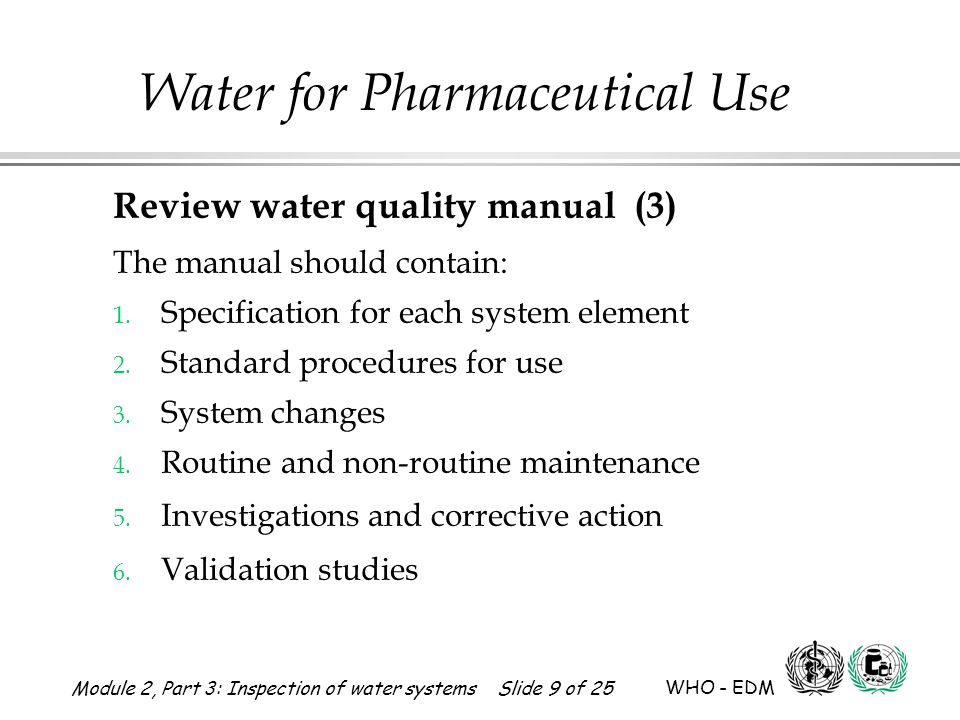 Review water quality manual (3)