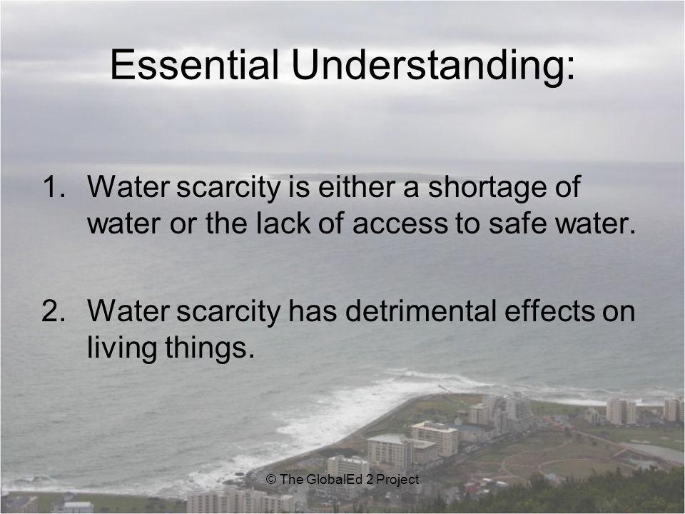 Essential Understanding: