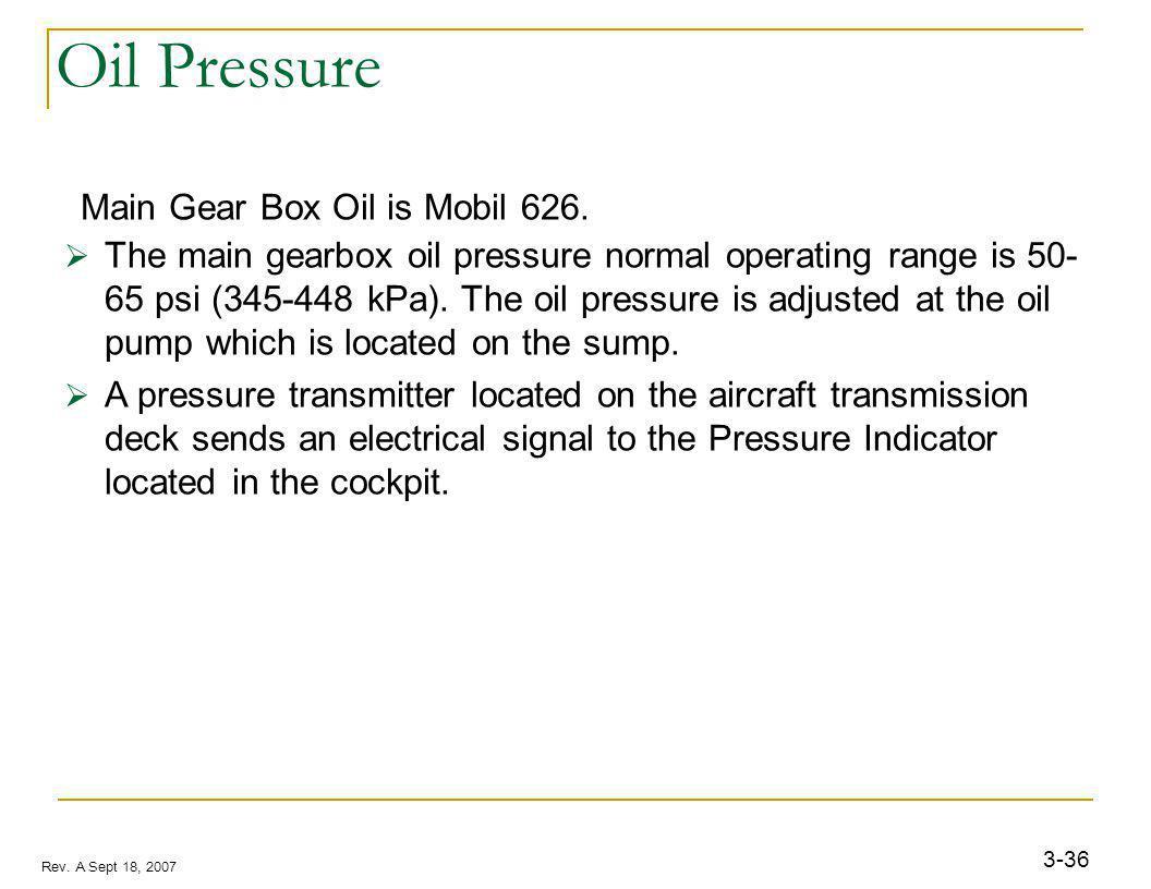 Oil strainer Description