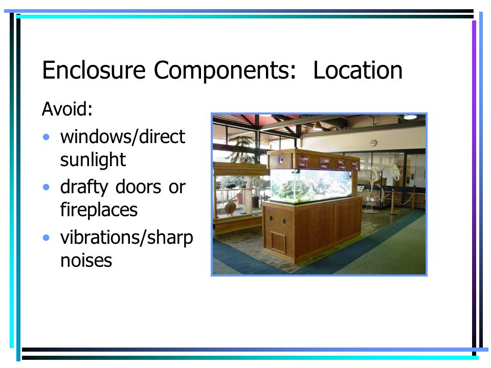 Enclosure Components: Location