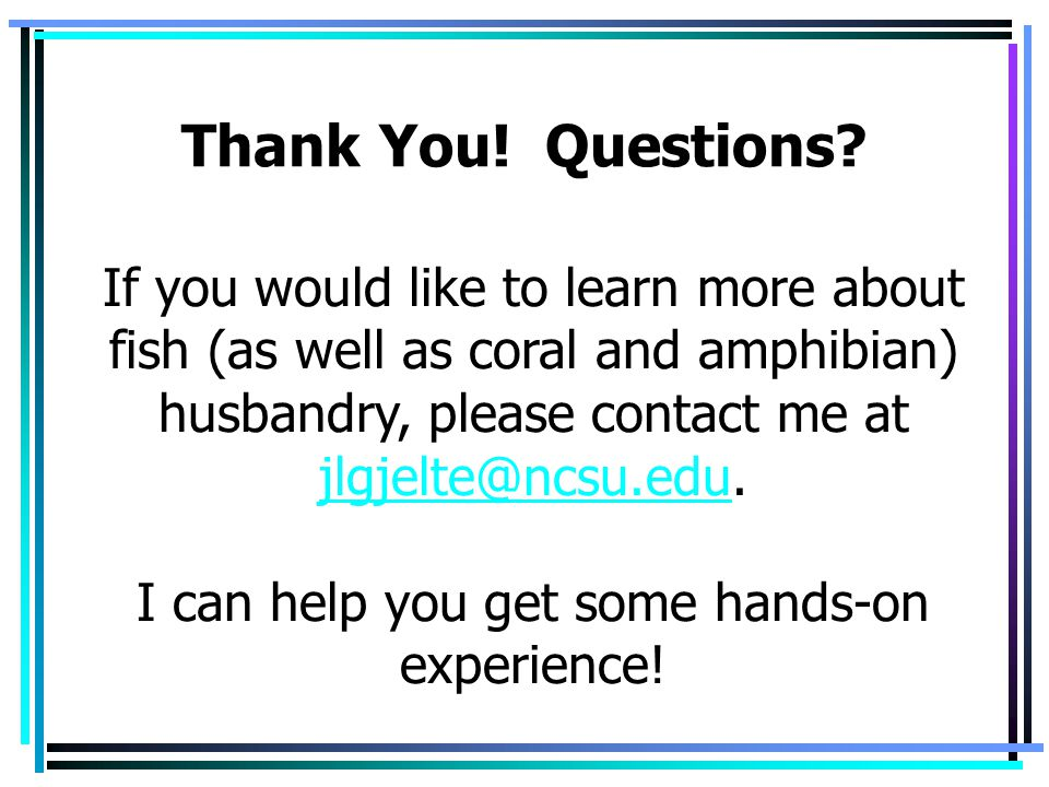 I can help you get some hands-on experience!