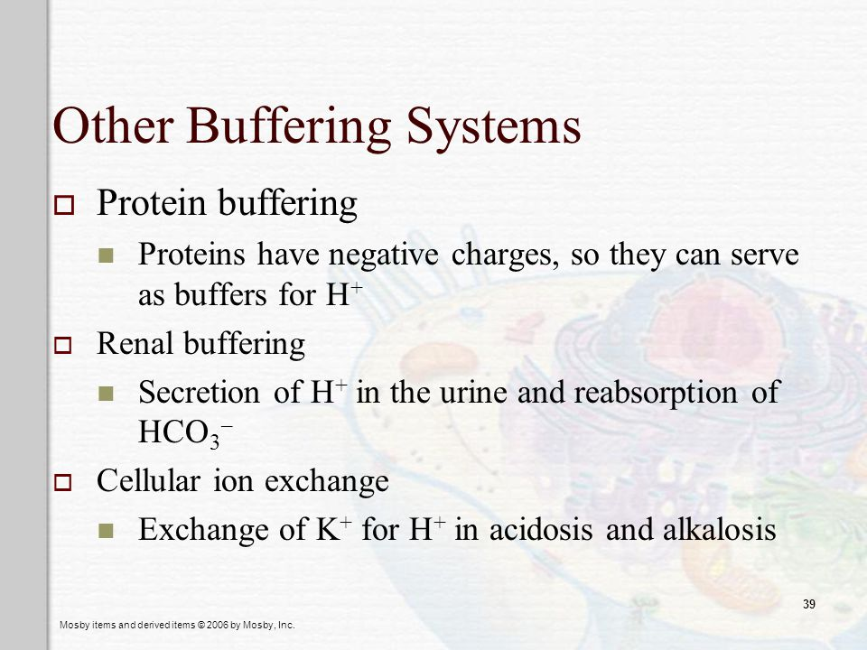 Other Buffering Systems