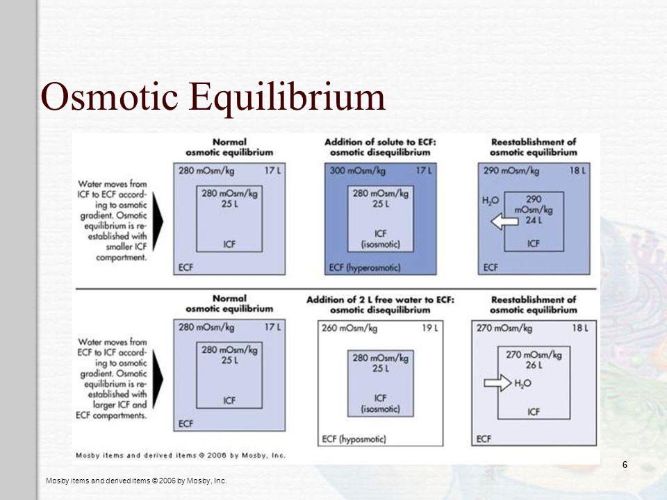 Osmotic Equilibrium