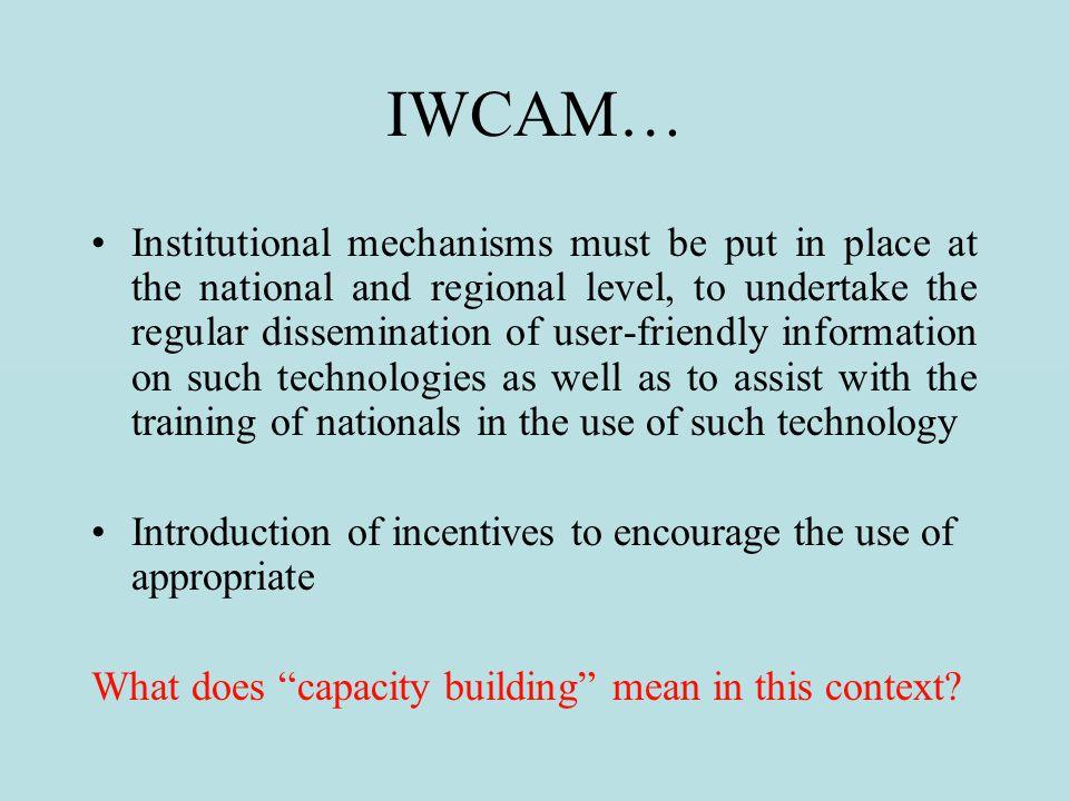 IWCAM…