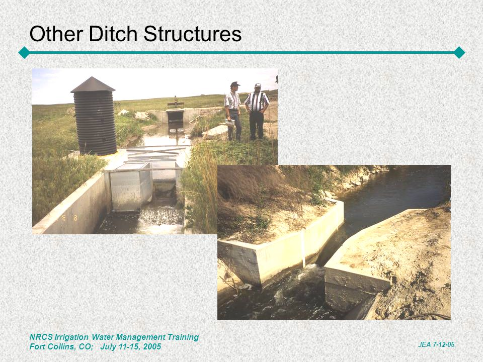 Other Ditch Structures