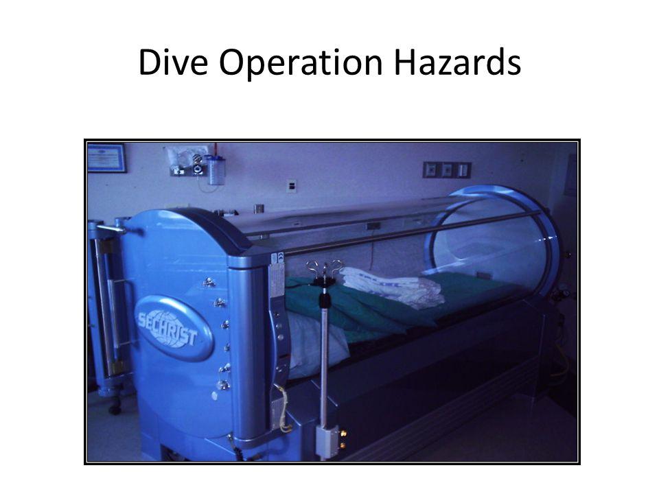 Dive Operation Hazards