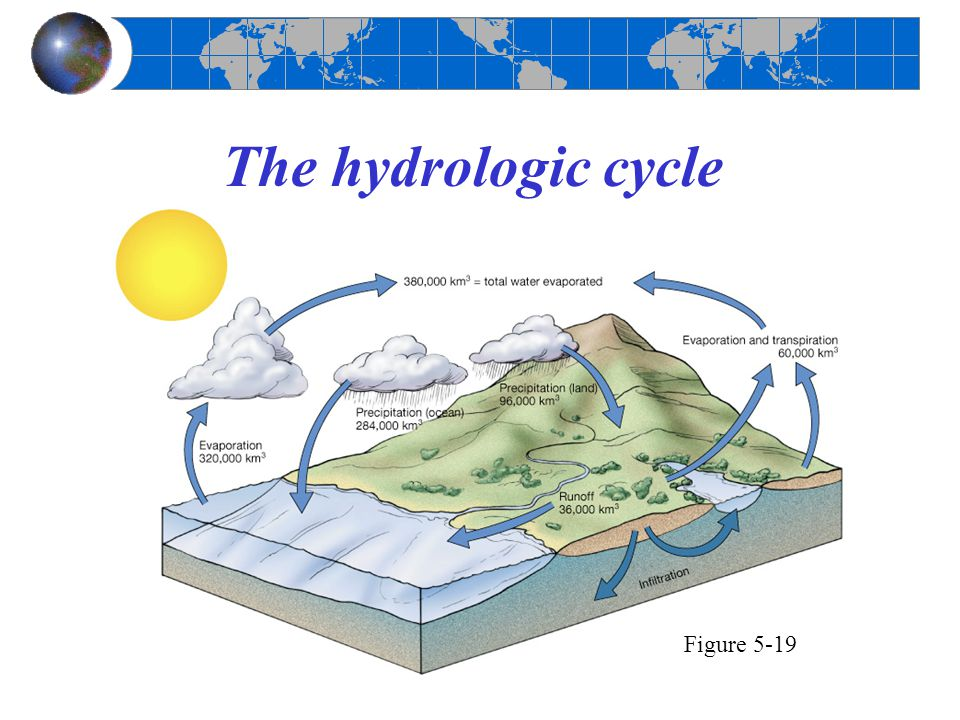 The hydrologic cycle Figure 5-19