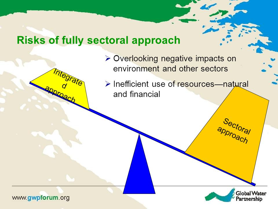 Risks of fully sectoral approach