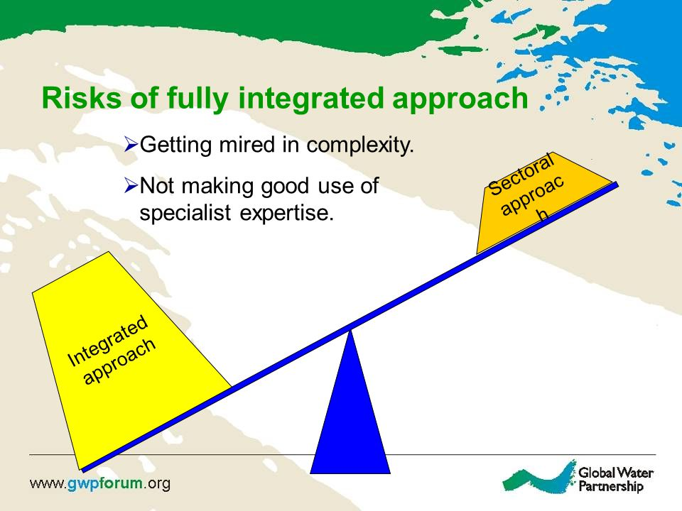 Risks of fully integrated approach