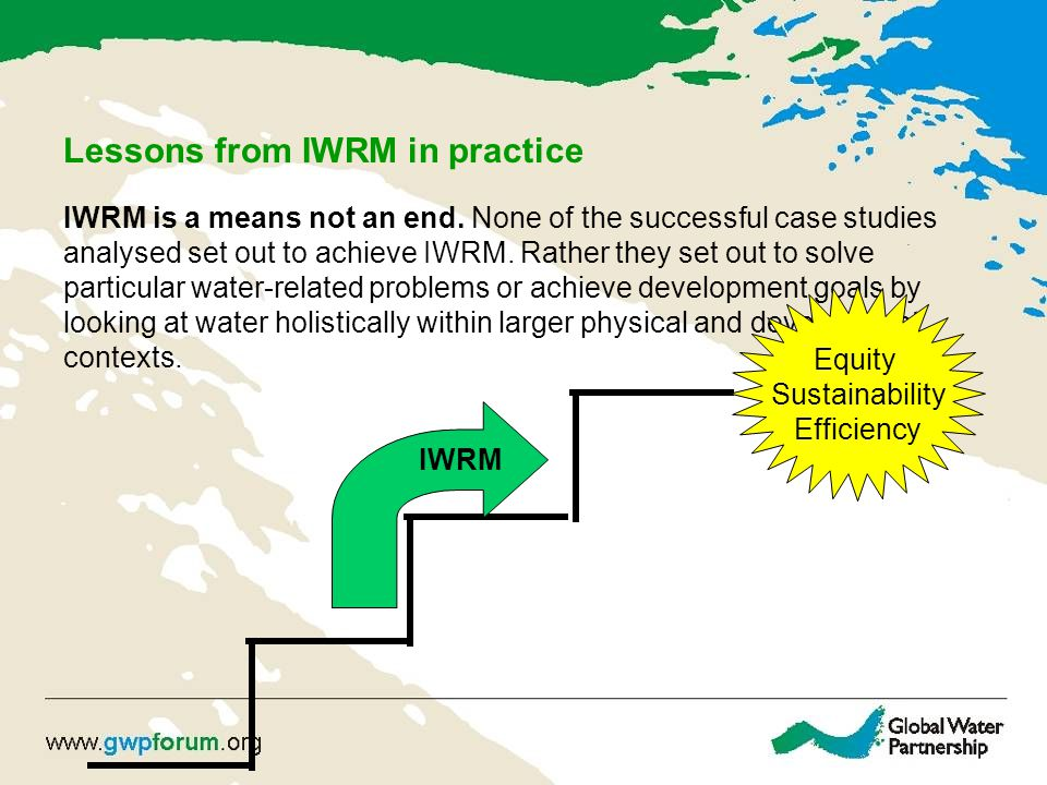 Lessons from IWRM in practice