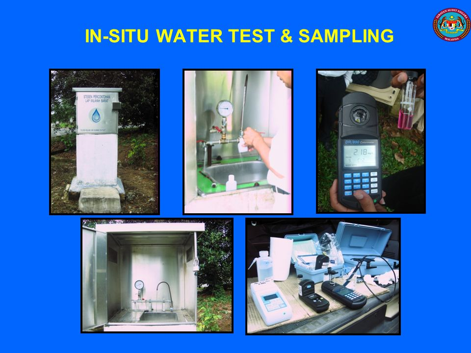 IN-SITU WATER TEST & SAMPLING