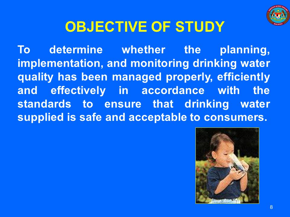 OBJECTIVE OF STUDY
