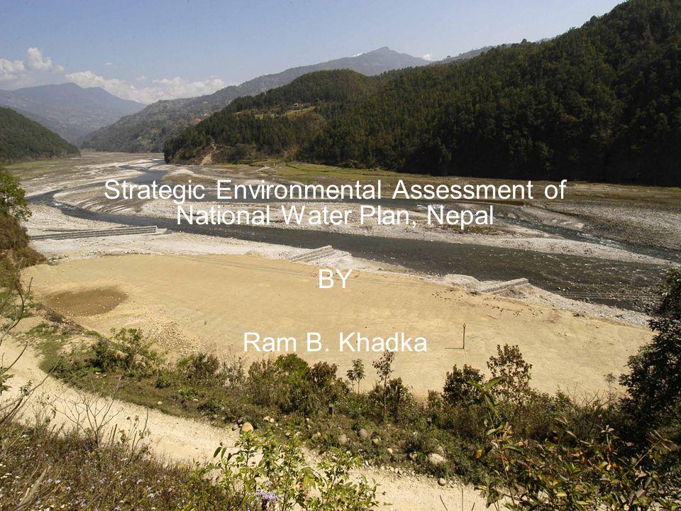 Strategic Environmental Assessment of National Water Plan, Nepal