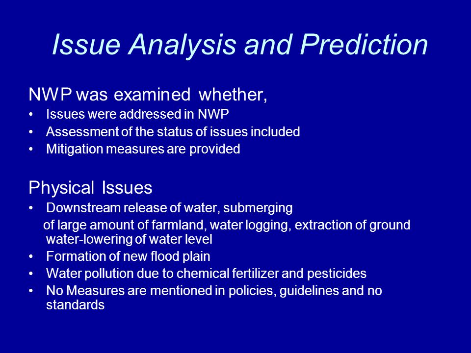 Issue Analysis and Prediction