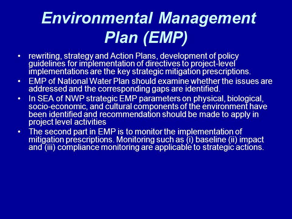 Environmental Management Plan (EMP)