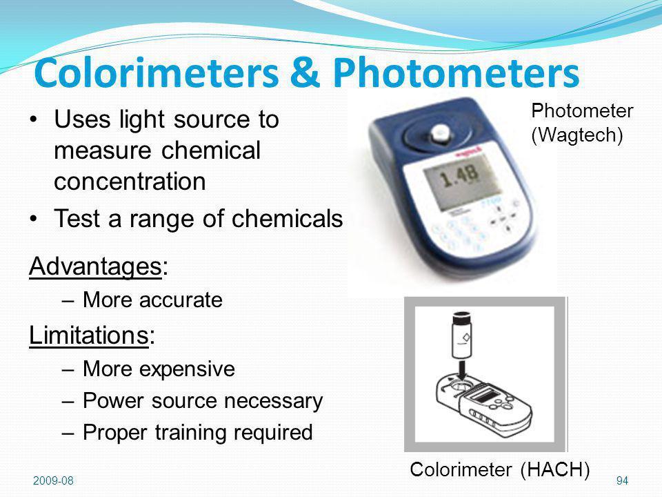 Colorimeters & Photometers