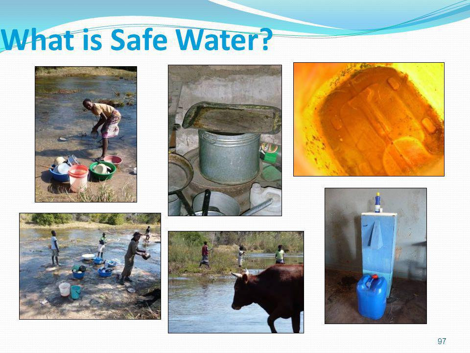 What is Safe Water. 3/31/2017.