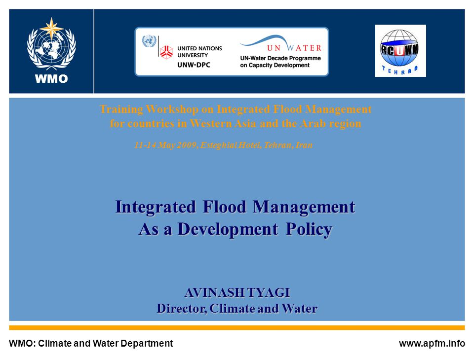 Integrated Flood Management As a Development Policy
