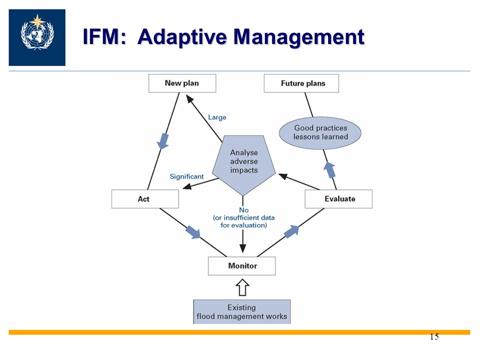 IFM: Adaptive Management