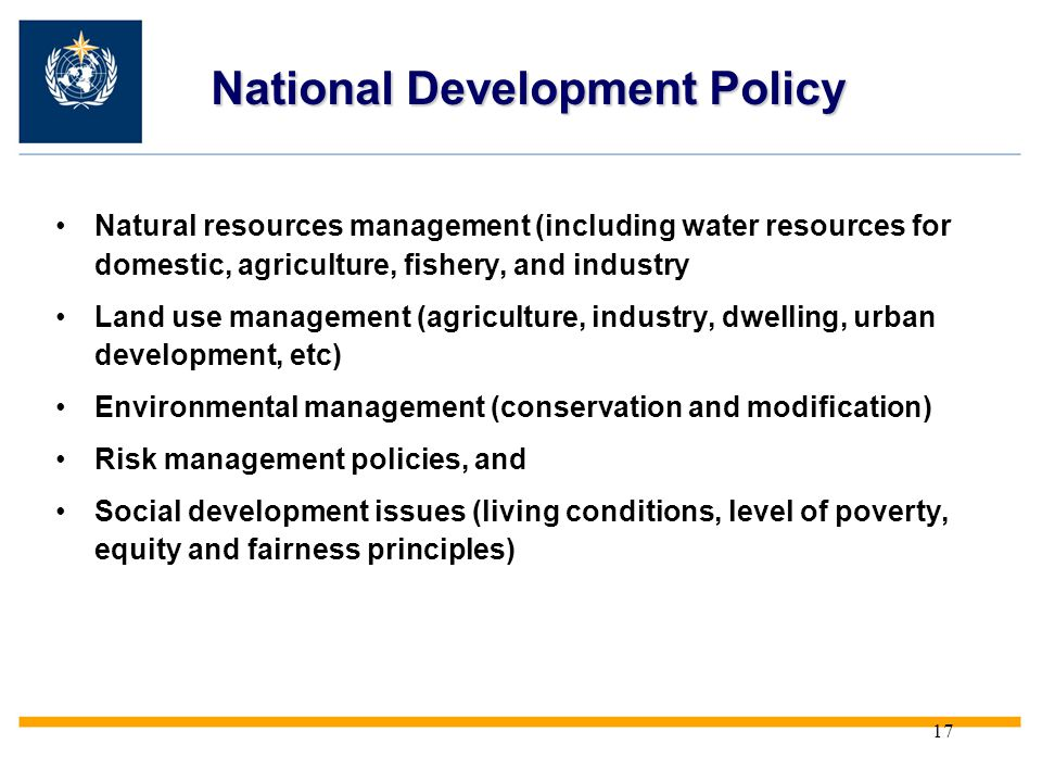 National Development Policy
