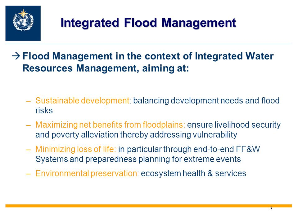 Integrated Flood Management