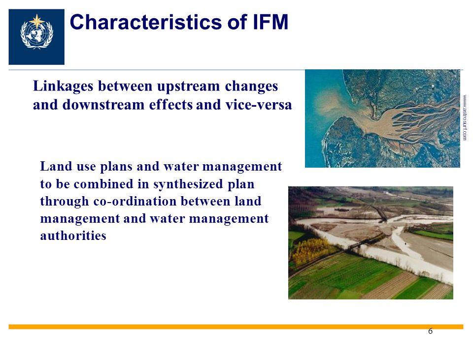 Characteristics of IFM