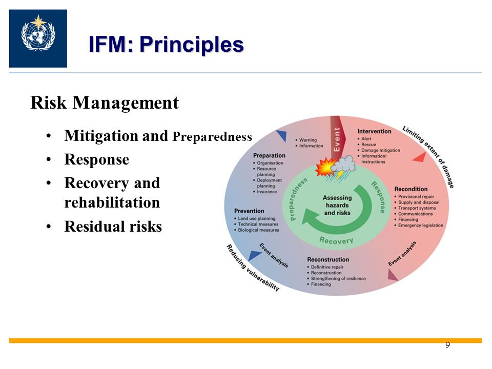 IFM: Principles Risk Management Mitigation and Preparedness Response