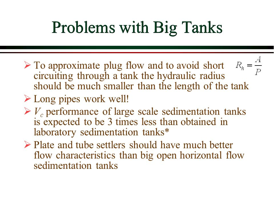 Problems with Big Tanks