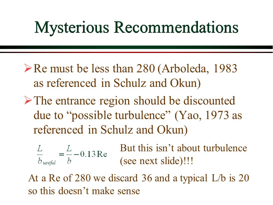 Mysterious Recommendations