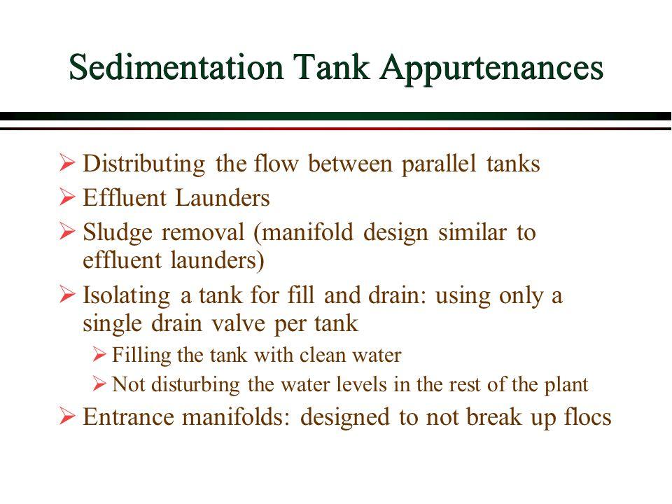 Sedimentation Tank Appurtenances