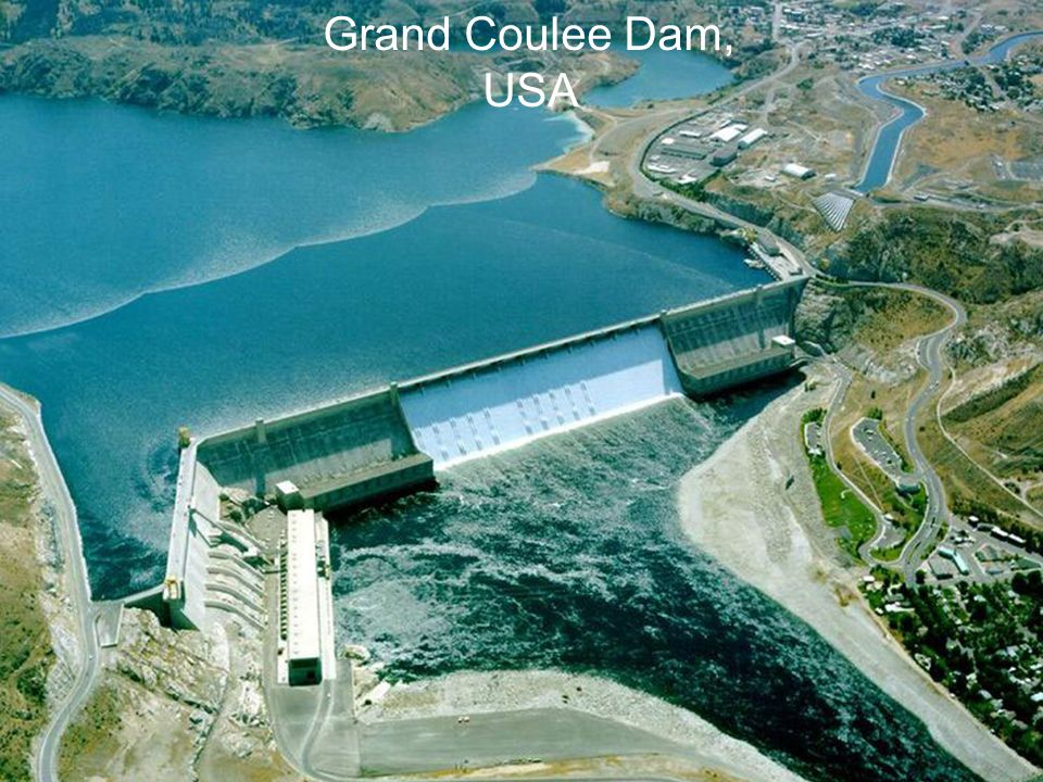 Grand Coulee Dam, USA