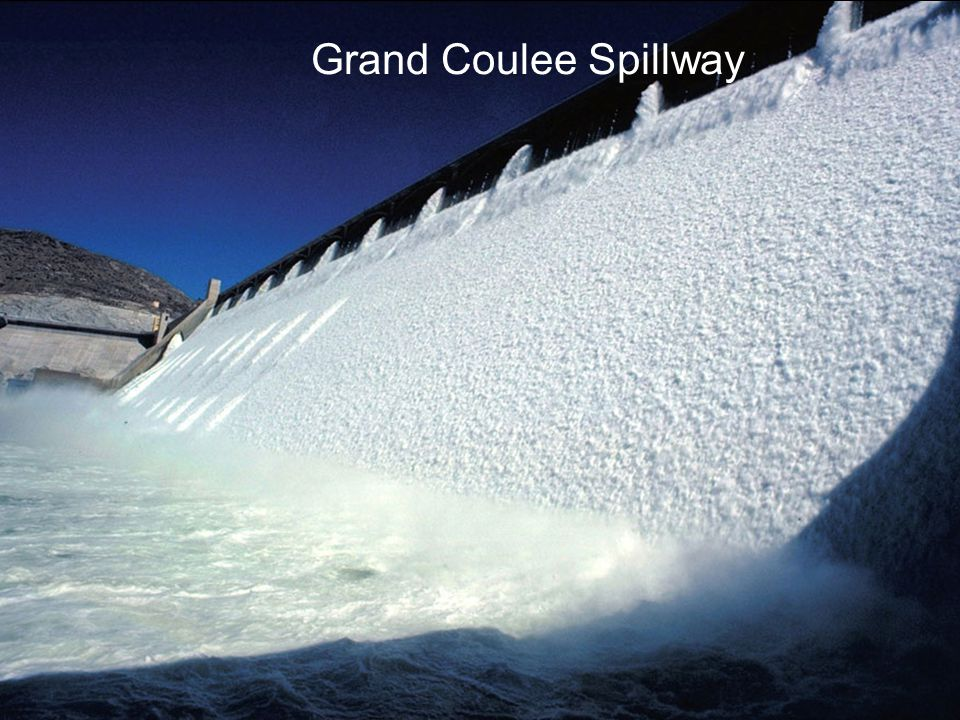 Grand Coulee Spillway