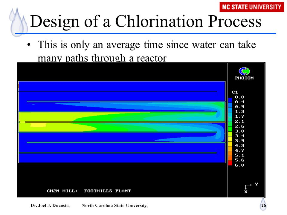 Design of a Chlorination Process