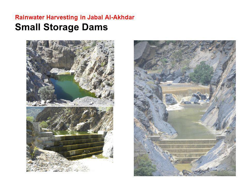Rainwater Harvesting in Jabal Al-Akhdar Small Storage Dams