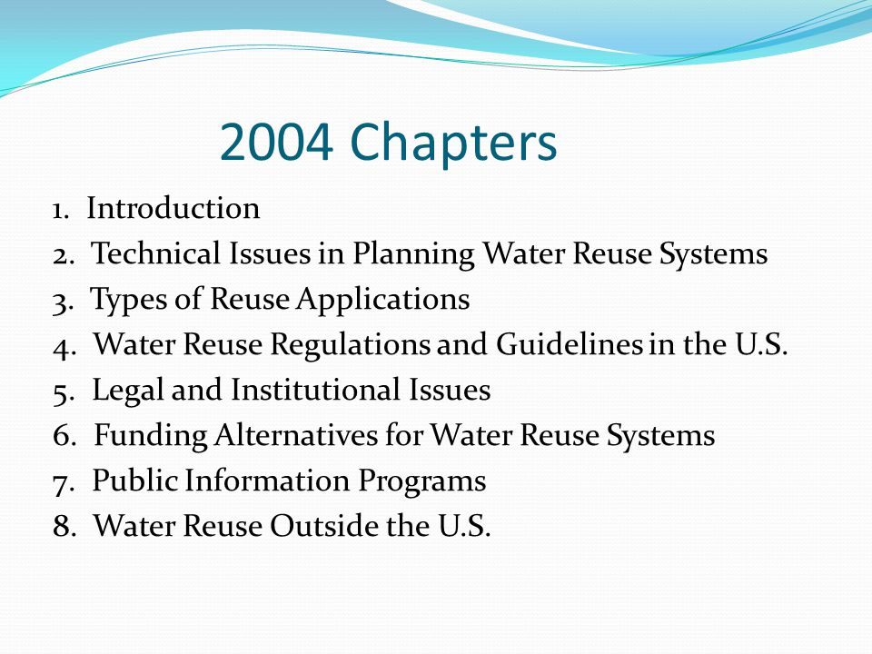 2004 Chapters