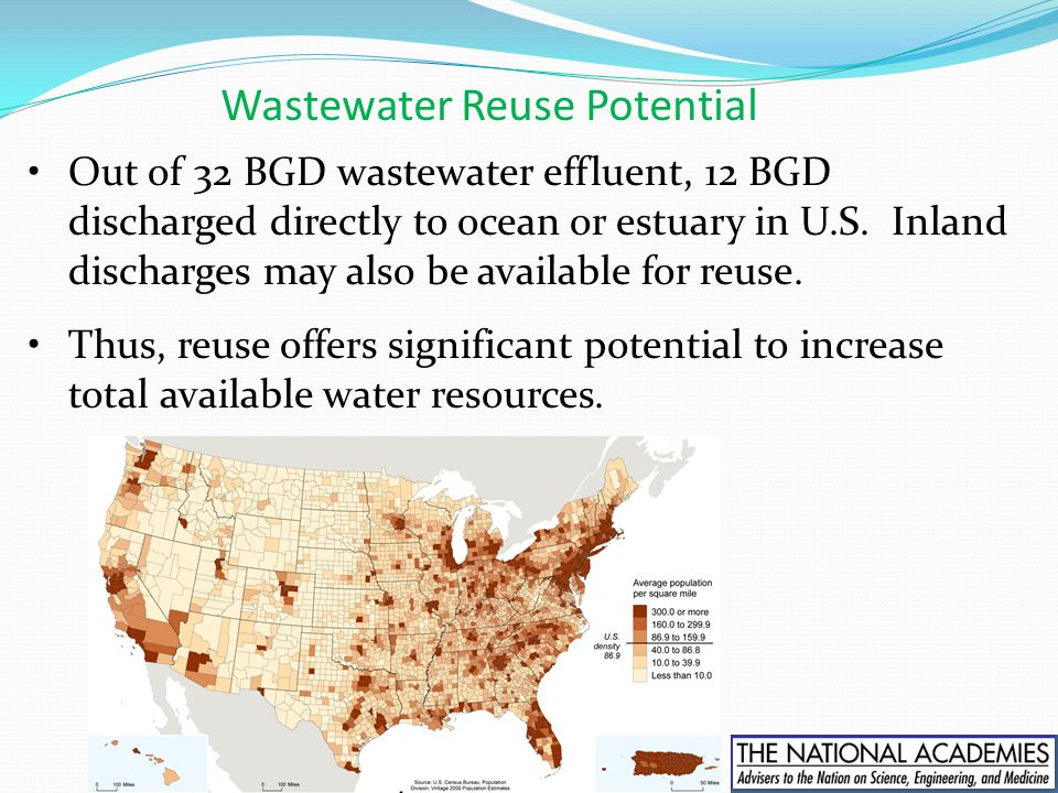 Wastewater Reuse Potential