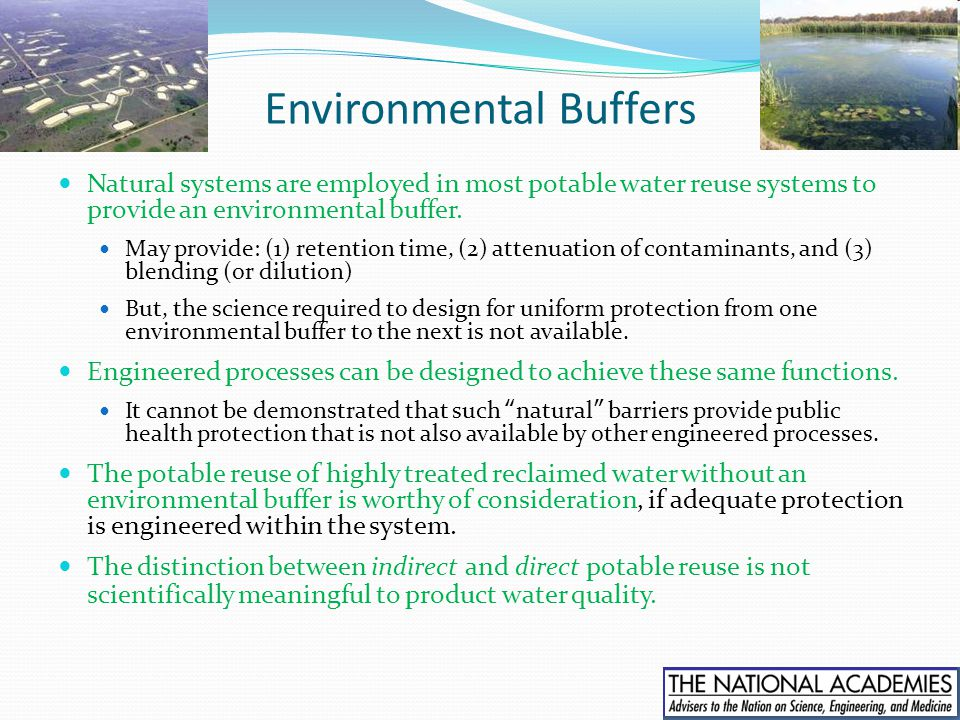 Environmental Buffers
