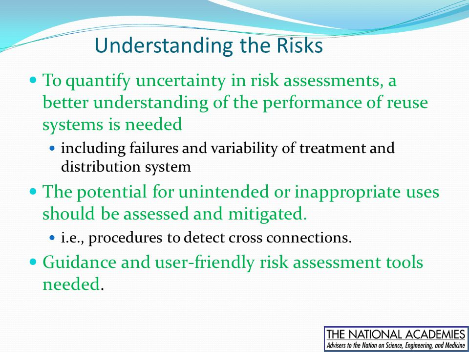 Understanding the Risks